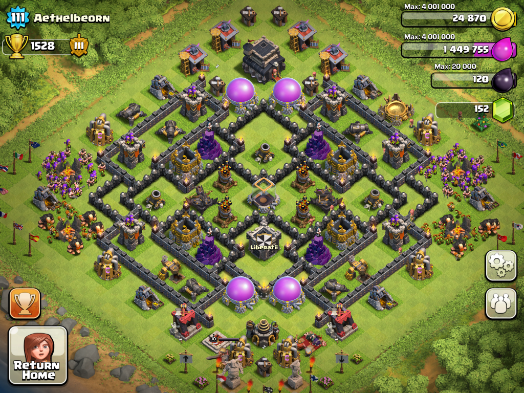 Town hall lvl 7 layouts